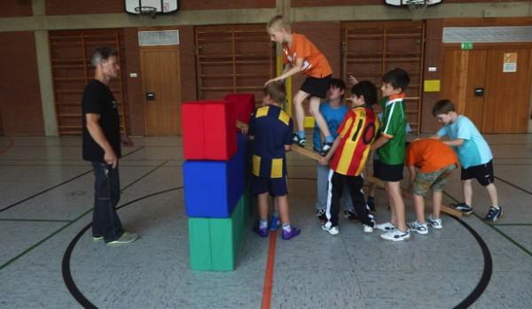 neue Kommunikations- und Verhaltensmuster anwenden - Teamübung - Einbruch in die Burg